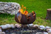 Heiße Zeiten: Brandgefahr durch Lagerfeuer oder Grill